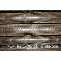 China U Bent Welded Spiral Evaporator Tube , SA210 Gr. C SMLS Carbon Steel Tube wholesale