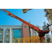 China Hydraulic Stationary Concrete Placing Boom 2.3t Counterweight 360 Degree Slewing Range wholesale