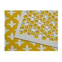 Buy cheap Powder Coated Perforated Aluminum Sheet Customized Hole Shape / Color from wholesalers