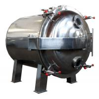 China Round Shape Static Vacuum Dryer Oven , Industrial Tray Dryer For Foodstuff wholesale