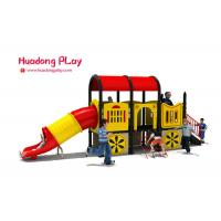China Nontoxic Plastic Outdoor Playset Traditional Car Shape CAD Instruction wholesale
