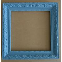 China blue cheaper mirror frame,antique wall mirror frame on sale