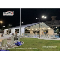Buy cheap Outdoor huge space sport stadium tent for swimming pool, 20x50m Swimming pool from wholesalers
