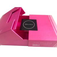China Premium Luxury Magnetic Hair Extension Packaging Box CE FSC Approval wholesale