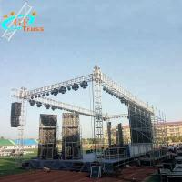 China Aluminum Lighting Truss Outdoor Concert Stage 50*3mm Tube wholesale