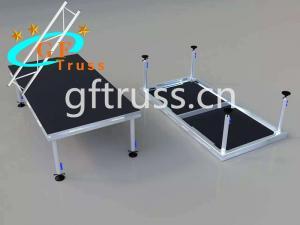 China Portable Concert Aluminum Stage Platform 18mm Plywood wholesale