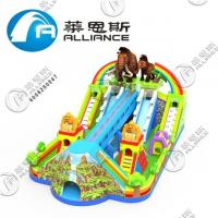 Buy cheap 2019 New Design Inflatable Mammoth Paradise Inflatable Bouncer with Slide for from wholesalers