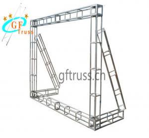 China 290*290mm Dragon Gate Triangle Lighting Truss Aluminum 6061-T6 wholesale