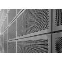 China Aluminum Perforated Screen Facade With Round / Slot Hole Or Hexagonal Hole wholesale