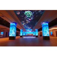 Buy cheap 90 Degrees Corner P3mm LED Displays HD Video Wall With CE / ROHS from wholesalers