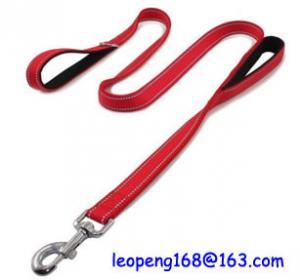 China Quality Reflective Nylon Dog Leash Pet Safety Walking and Trainning Dog Leash factory price wholesale