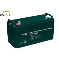 China High Power 120Ah Rechargeable Sealed Lead Acid Battery 12v For Power Tools wholesale