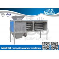 Cheap Automatic Non Ferrous Metal separator , 5 Layer Magnetic Rod Cabinet For Dried-powder for sale
