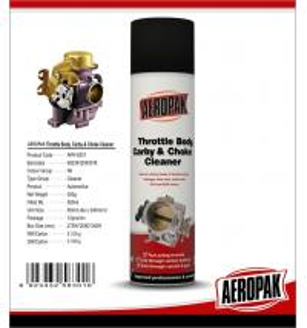 China Aeropak 500ml car carb choke Carburetor Cleaner Spray on sale