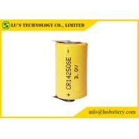 China CR14250 650mah 3V Lithium Manganese Dioxide Battery With Tabs Multi Function wholesale