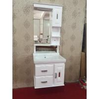 China Luxury Hung PVC Bathroom Cabinet / Single Bowl Bathroom Vanities wholesale