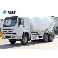 China SINOTRUK HOWO 371hp 6x4 10 Wheel 10 Cubic Meters Concrete Mixer Truck on sale