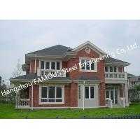 China Prefabricated Luxury Light Weight Customized Pre-Engineered Building Steel Villa House wholesale