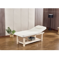 China Adjustable Backrest Portable Beauty Couch Relieve Neck And Waist Stress wholesale