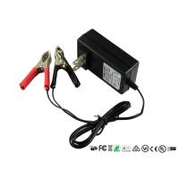 China Intelligent 12V Sealed Lead Acid Battery Charger With Alligator Clips wholesale