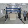 China Horizontal Long Sheet Blade Cutter / Sheet Foam Cutting Machine With Guide Rail Sponge Cutter wholesale