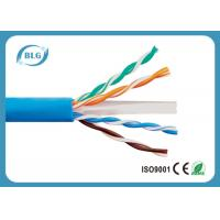 China Solid UTP Cat6 Copper Cable 0.57mm Twisted Pair Cable for Gigabit Ethernet and Other Networks wholesale