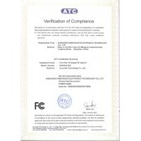 ShenZhen Befirst Electronic Technology co.,ltd Certifications