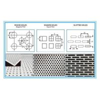 China 6061 Rectangular Holes Perforated Aluminum Sheet With 2mm Hole Diameter wholesale
