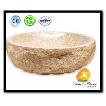 Quality Xiamen Kungfu Stone Ltd supply Indoor Yellow G682 Stone Sink  For Kitchen,Bathroom wholesale
