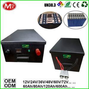 China Motor Homes Car Power Supply Portable Storage LiFePO4 Battery Backup Power 48V 500Ah Customized on sale