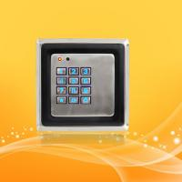 Buy cheap Smart Home Access Control Card Reader With Password , Metal Material Case from wholesalers