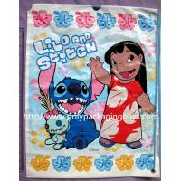 China Light Resistant Plastic Drawstring Bags With 7 Colors Gravure Printing wholesale