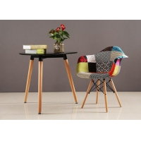 China Beech Leg Patchwork Dining Chair wholesale