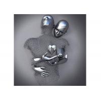 Buy cheap Contemporary Wall Art Design Stainless Steel Figurative Love Sculpture from wholesalers
