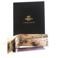 China luxury design fold leaflet booklet printing brochure printing full color all pages on sale