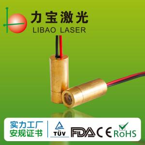 China Light Red Cross Locator 660nm 100mw Laser Diode Module wholesale