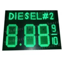 China Highway Service Station Digital Gas Price Signs 900mm X 1200mm X 100mm wholesale