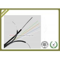China GJYXCH 4core Single Mode Outdoor Fiber Optic Cable with FRP messenger wire wholesale