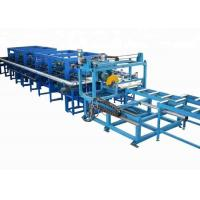Buy cheap 0.3-0.8 Mm Galvanized Steel PU Sandwich Panel Production Line Fully Automatic from wholesalers