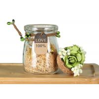 Buy cheap Wedding Decoration Empty Glass Jars Candle Holder Jam Pudding Bottle from wholesalers