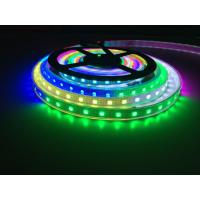 China 5M Waterproof IP20 WS2813 LED strip with white PCB Colorful DC 5V led lights Like horse running for water decoration on sale