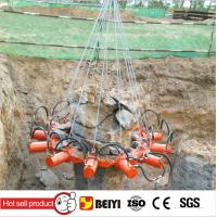 BYMK-180S 20-30T Excavator Hydraulic Pile Breaker for your piles construction