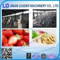 China Fruit and vegetable chips      frictional extruder wholesale