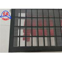 China Mi Swaco Mongoose Shaker Screens With High Strength Plastic Steel Frame wholesale