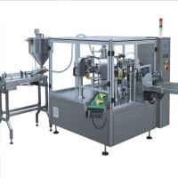 China Basil powder Stand up bag Rotary filling machine wholesale