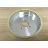China Customized Vitrified Bond Diamond Grinding Wheels For Hard Alloy Hypotenuse wholesale
