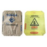 Buy cheap Customized 50 Kg PP Polypropylene Cement Bags with Valve , Bopp Laminated from wholesalers