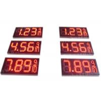 China 8.88 9 / 10 Led Gas Price Display , Digital Gas Station Price Signs Outdoor Type wholesale