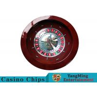 Luxury Casino Gaming Standard Solid Wood 32 Roulette Wheel Dedicated For Roulette Poker Table for sale