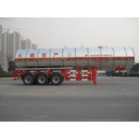 China Gas Tanker Semi Trailer 39500L Capacity For Transport Propylene Oxide Liquiefied Property wholesale